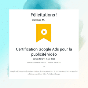 Consultant adwords certifié sur le réseau Youtube
