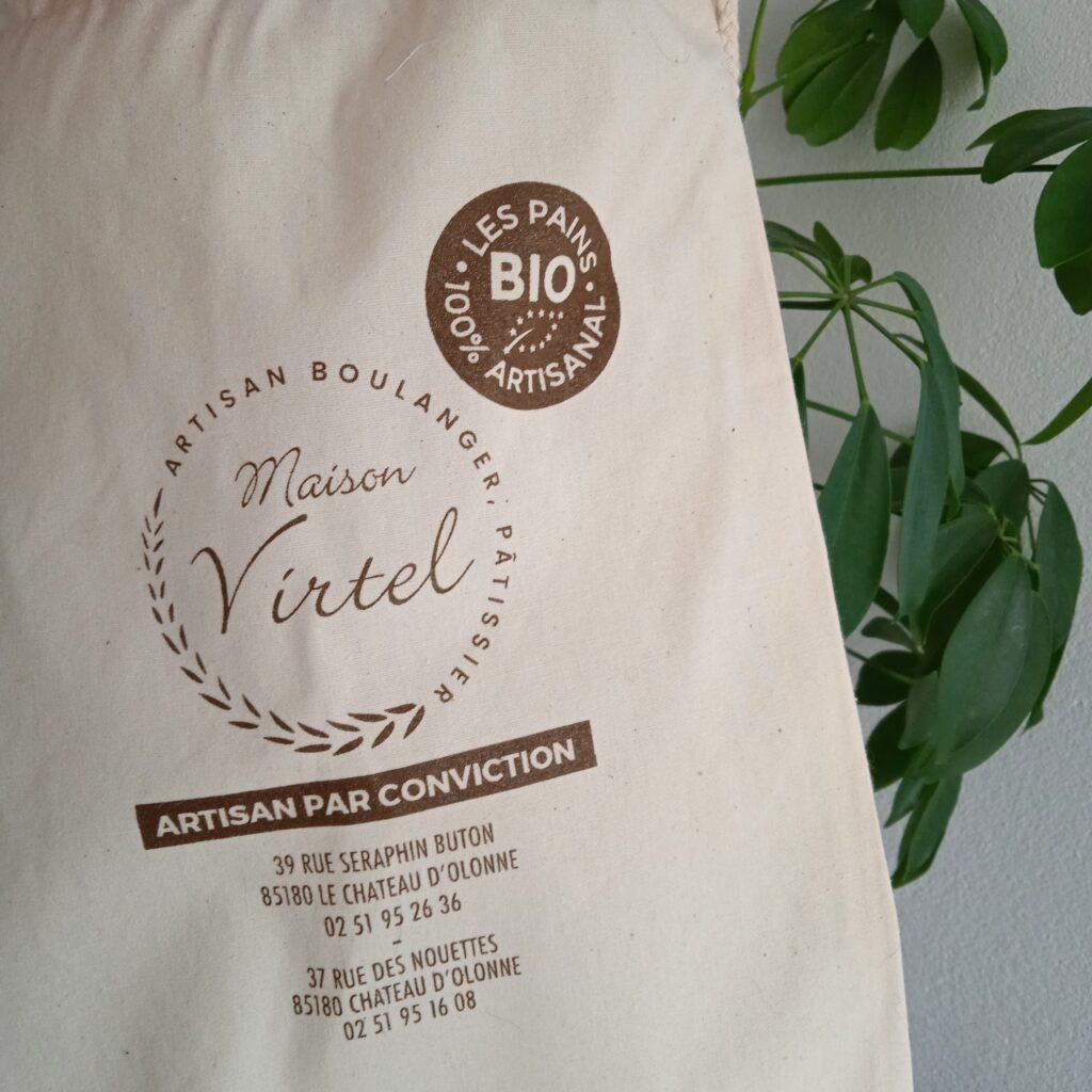 Création support de communication Boulangerie Maison Virtel