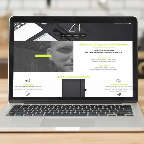 Createur de site internet pour le site Alexandre Helbourg